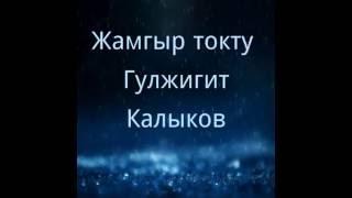 Жамгыр токту - Гулжигит Калыков