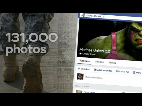 Secret military site posts explicit images of female service members