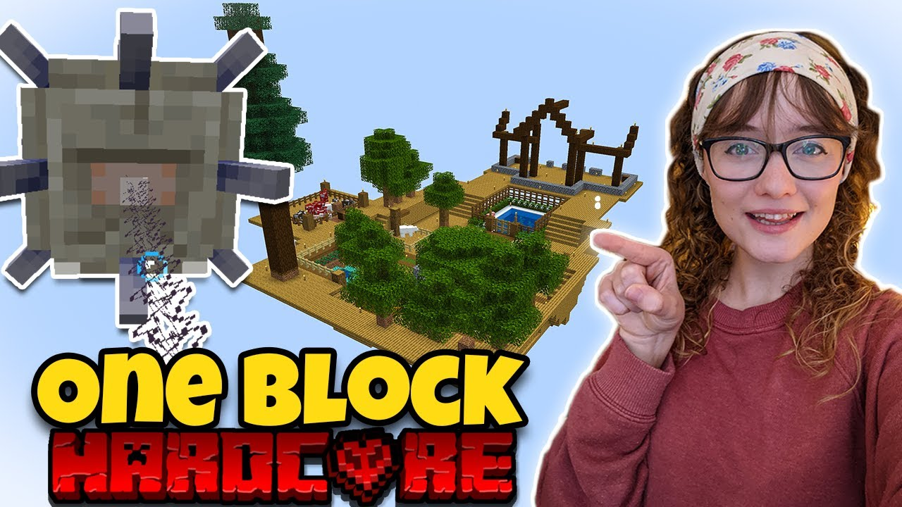 Download Minecraft Skyblock One Block, but its HARDCORE [ep3]