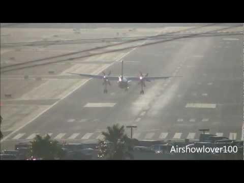 Horizon Air De Havilland DHC-8-402Q Dash 8 [N400QX] Landing San Diego