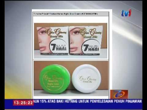 Kementerian Kesihatan Kesan 10 Produk Kosmetik Mengandungi Racun 22 Okt 2016 Youtube