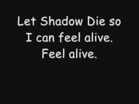 Black Veil Brides Shadows Die Lirycs