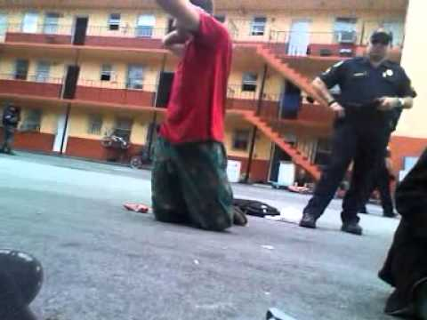 Militarized Law Enforcement Raids Occupy Miami Before 3-13-2012 Action (Pt 1)