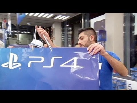 Sony PlayStation 4 hits shops in Europe - economy