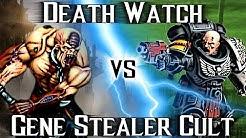 Warhammer 40.000 Battle Report: Gene Stealer Cult vs Death Watch / Blood Angels (Deutsch)