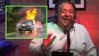 Joey Diaz Borrows A Car and It Catches Fire