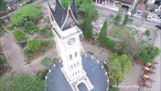 Full Video View 360° Jam Gadang @ Bukittinggi, Sumatera Barat (01082016)