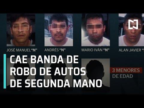 Detienen a banda dedicada al robo de autos de segunda mano - En Punto