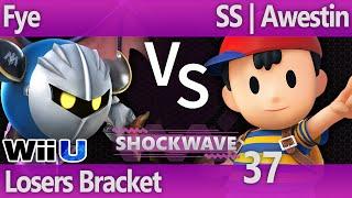 SW 37 Wii U - Fye (MK) vs SS | Awestin (Ness) - Losers Bracket
