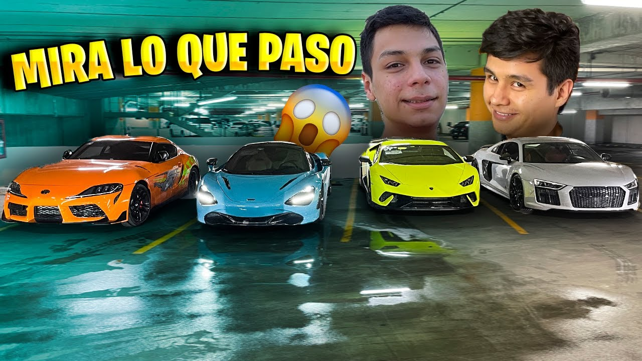 LE PRESTO MI LAMBORGHINI A YAIR17 Y MI AUDI R8 TWIN TURBO A WATZAP PARA RODAR || ALFREDO VALENZUELA