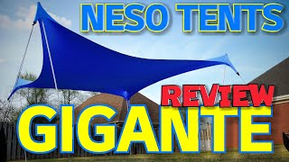 Neso Tents Gigante REVIEW 😃👉 THE ULTIMATE BEACH TENT