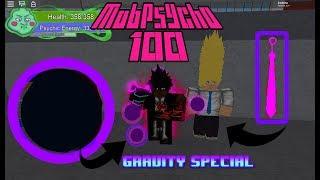 Tie Sword & Gravity Showcase (Psycho One Hundred) - ROBLOX