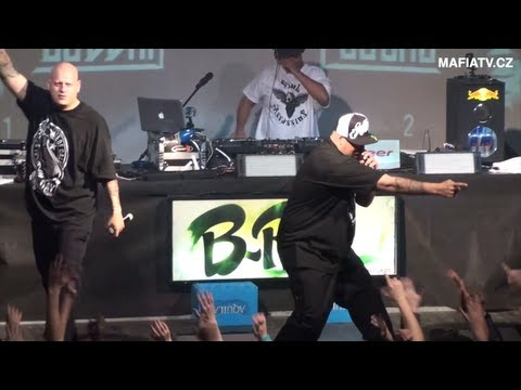 B-REAL of Cypress Hill live in Prague 2011 - part.1