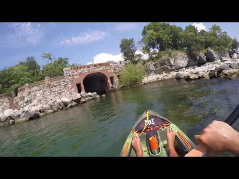 Kayaking Middle Bass Lake Erie
