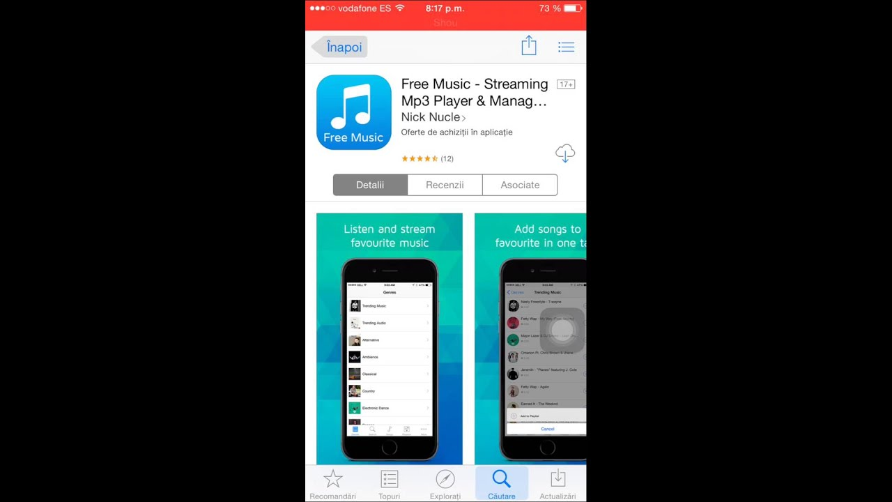 a free music app without wifi