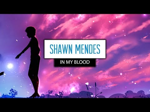 Shawn Mendes ‒ In My Blood (Lyrics) 🎤