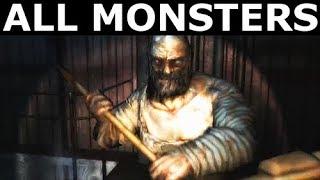 Cryostasis: Sleep Of Reason - All Monsters, Enemies & Bosses (No Commentary) (Horror Game)