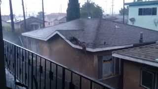Original tornado video in los angeles dec/12/14 (hd)  (raw --- original --- unedited)