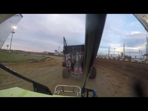Miami County Speedway outlaw wing feature part 1. 7-2-2016