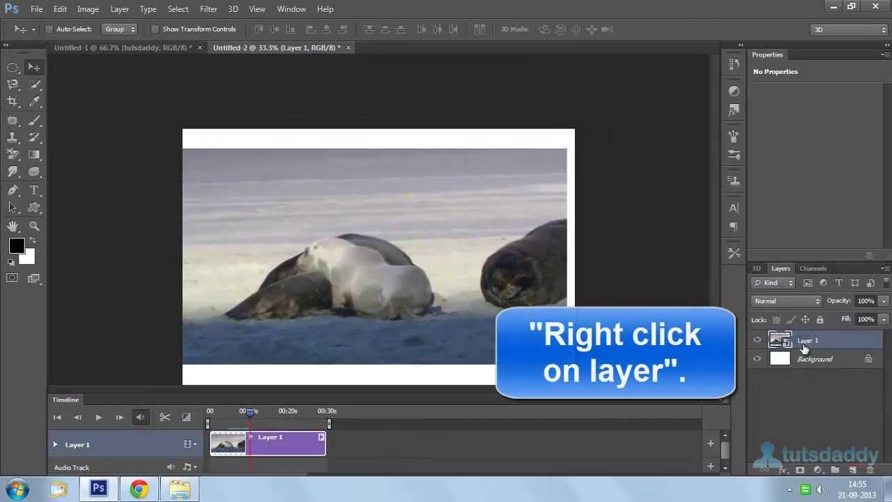 video layer in photoshop cs6
