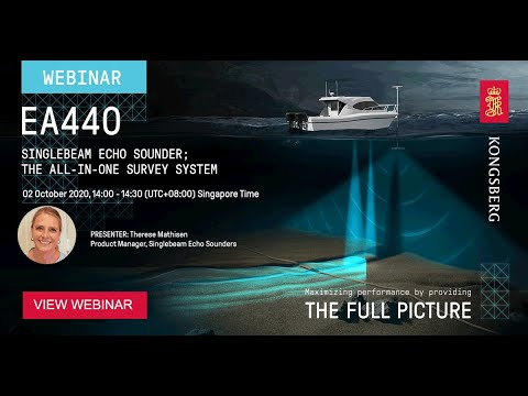Webinar - The EA440 hydrographic single beam echo sounder