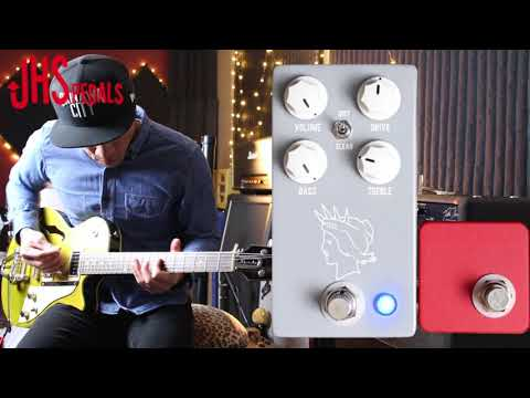 JHS Pedals Twin Twelve v2 overdrive pedal demo - by RJ Ronquillo 2017
