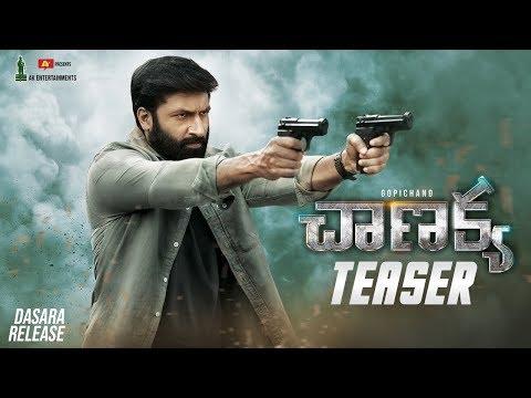 Chanakya Teaser | Gopichand, Mehreen, Zareen Khan | Thiru | AK Entertainments