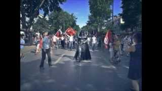 Gezi Parkı Turkey - Darth Vader Imperial March Theme