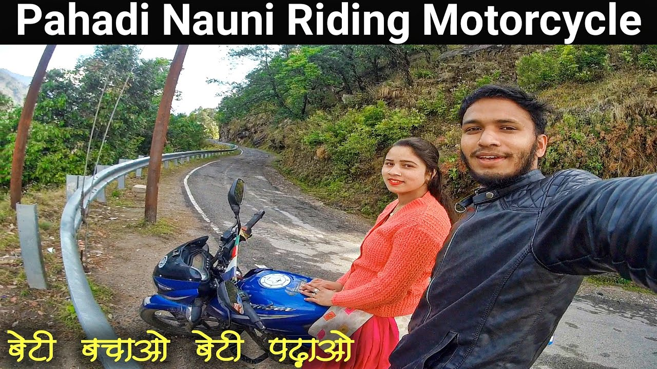 Her First Motovlog gone Wrong || Pahadi Lifestyle Vlog || By Alok Rana || Pahadi Biker