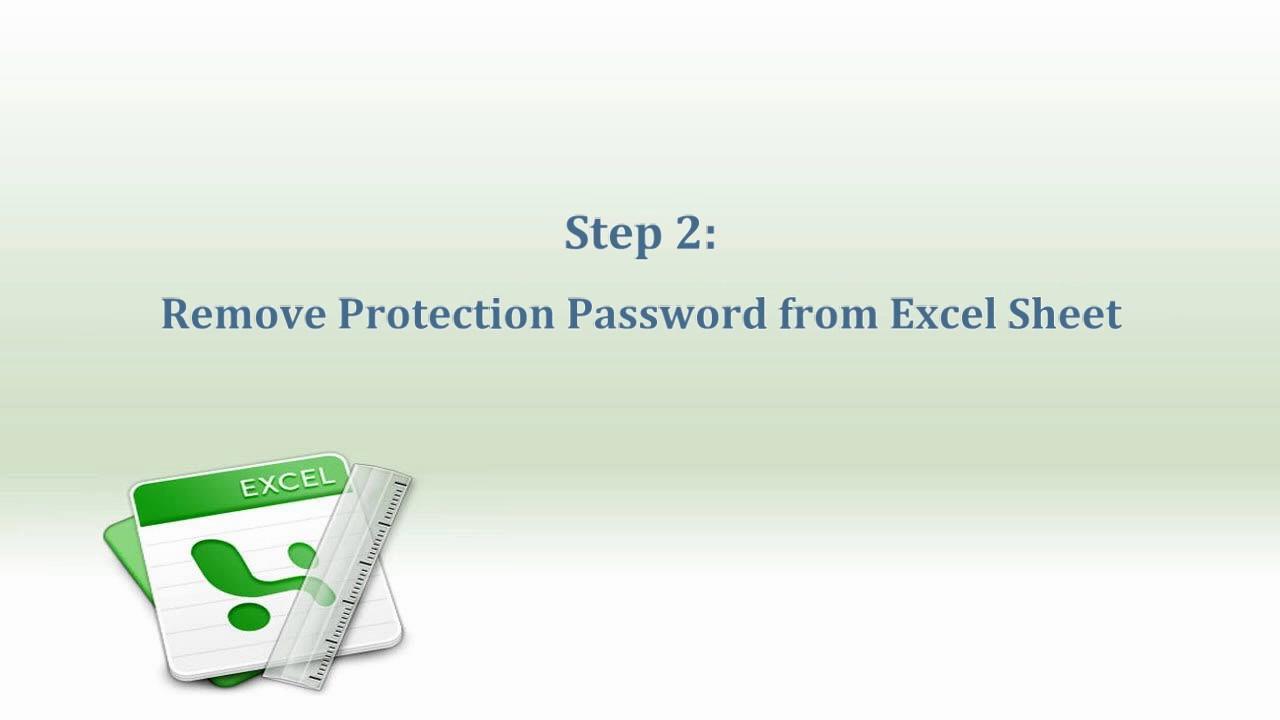 Excel Worksheet Password Remover | Remove Forgotten Password from ...