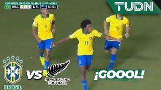 ¡Gol de  Brasil! Gran error de Polsen | Brasil 2 - 0 Nueva Zelanda | Mundial Sub-17 - J2 | TUDN