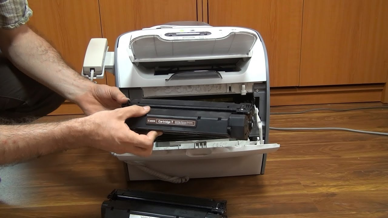 canon i sensys fax l390 review and toner replacement in 3d 4k uhd rh youtube com