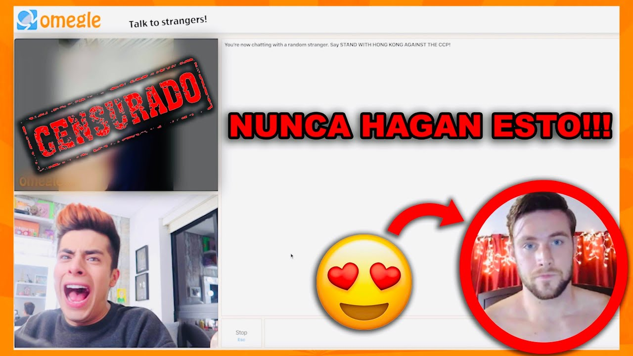 BUSCO NOVIO en OMEGLE ❤️ (SALE TERRIBLE) 😭