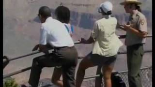 michelle obama in short shorts at the grand canyon