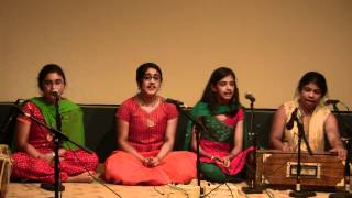Alankar School of Indian Classical Music - Jun 10 2012 Concert - Neer Bharan - Raag Tilak Kamod