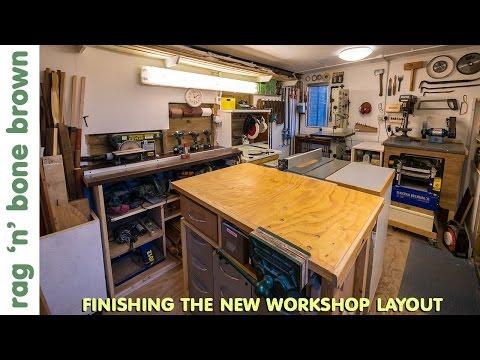 Finishing The New Workshop Layout - Workshop Re-Model Episode 8