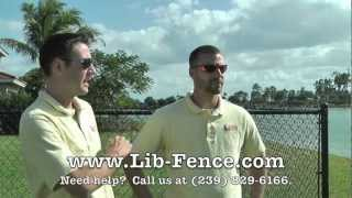 Cape Coral, Fort Myers, Naples Chain Link Fence Installation, Sales & Service - Liberty Fencing