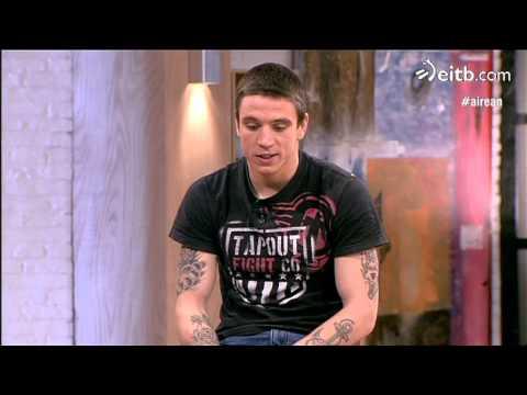 Kerman Lejarraga Euskal Herriko boxeolari onena, platoan