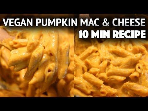 EASY VEGAN PUMPKIN MAC + CHEESE RECIPE (THANKSGIVING COLLAB)