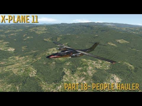 [X-Plane 11] Part 18- The Raven (People Hauler)