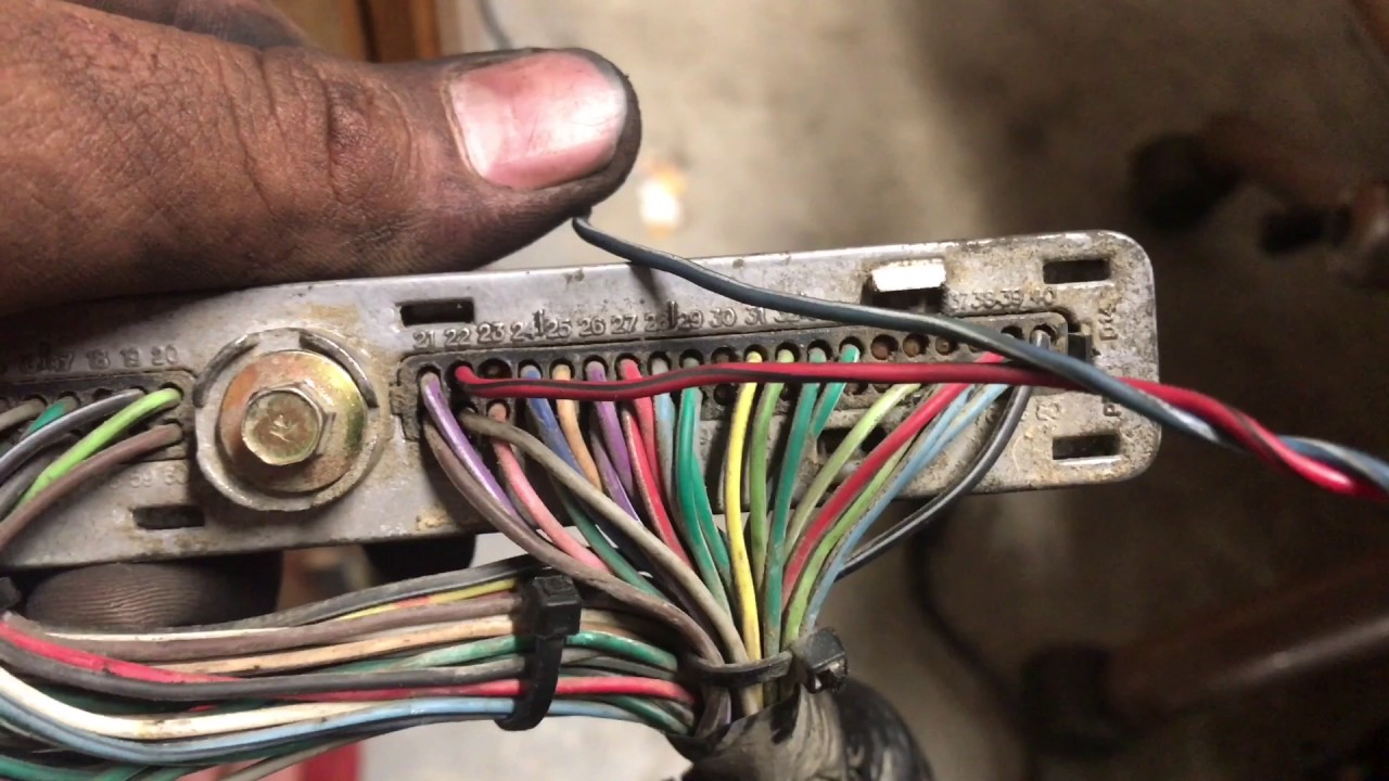 Silverado 4l60 To 4l80 Swap Wiring Youtube 99 Chevy Vss Harness