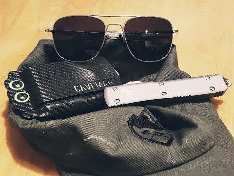 Pailuote Military Aviator Sunglasses -- Great Budget Glasses