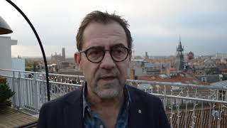 Michel Sarran présente le nouvel établissement sur le toit des Galeries Lafayette à Toulouse