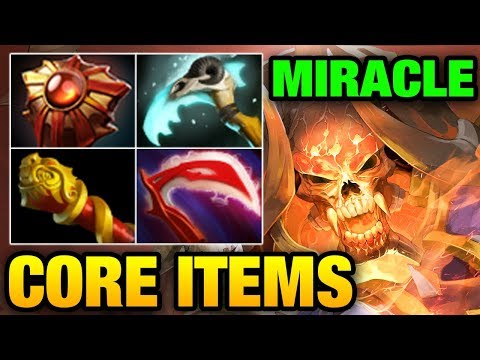 Miracle- Dota 2: Core Items for Clinkz