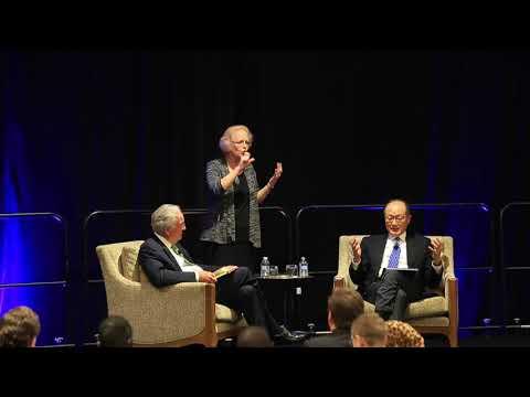 Senator Tom Harkin interviews World Bank President Dr. Jim Yong Kim