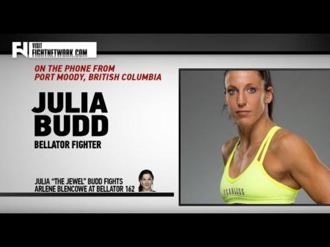 Bellator 162: Julia Budd on Making a...