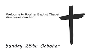 Sunday Service 25th October