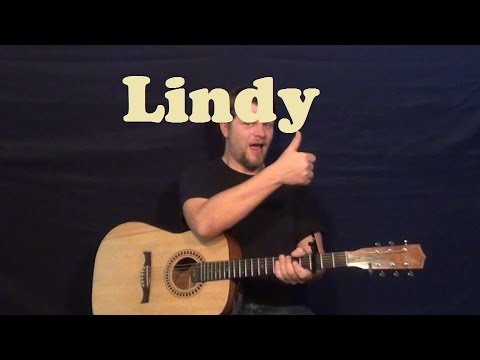 Lindy (Kenny Chesney) Easy Guitar Lesson Strum Chords How to Play ...