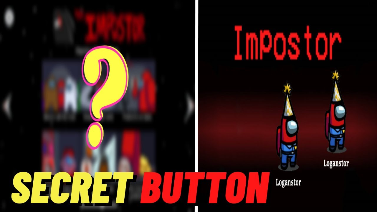 Download SECRET BUTTON TO BECOME IMPOSTER EVERYTIME IN AMONG US | SECRET GLITCH BUTTON TO BECOME IMPOSTER
