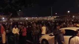 15 Temmuz gecesi Sakarya kent meydanı halk sokaklarda darbeye hayır diyor